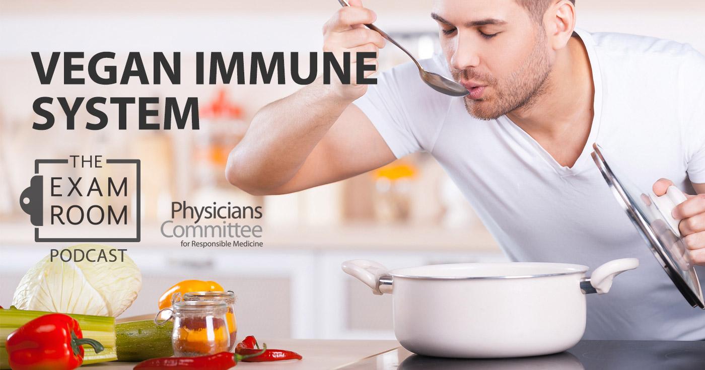 podcast vegan immune system