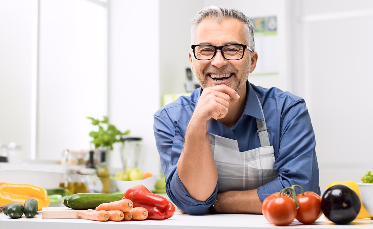 high protein diet when older