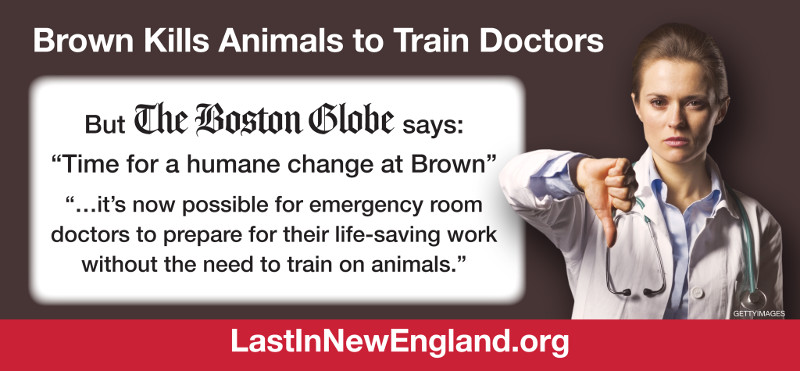 Brown Kills Animals to Train Doctors