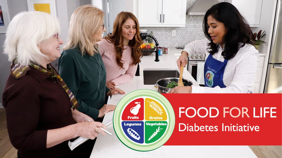 Food for Life Class Series - Diabetes Initiative