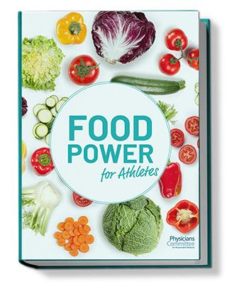 Food Power for Athletes Book