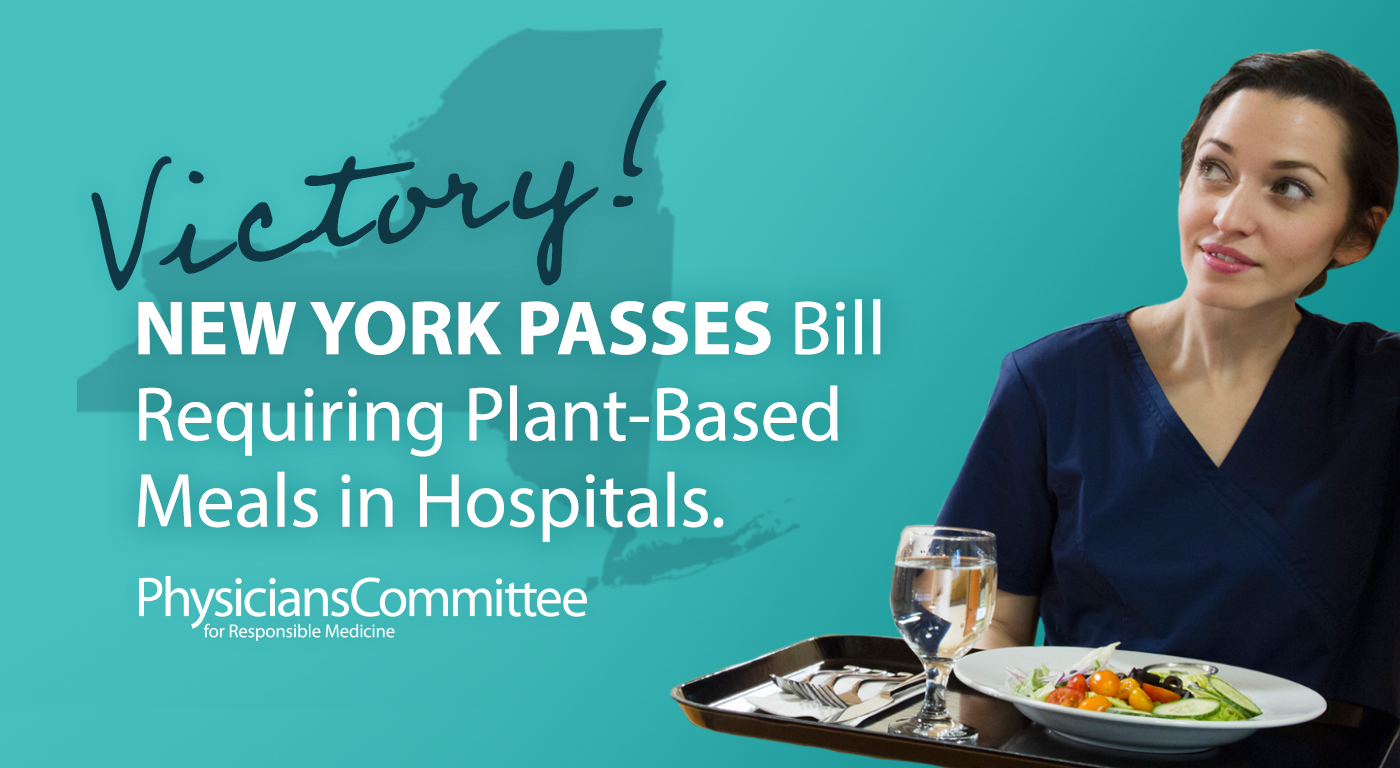 hospitals in ny that offer plant based diet