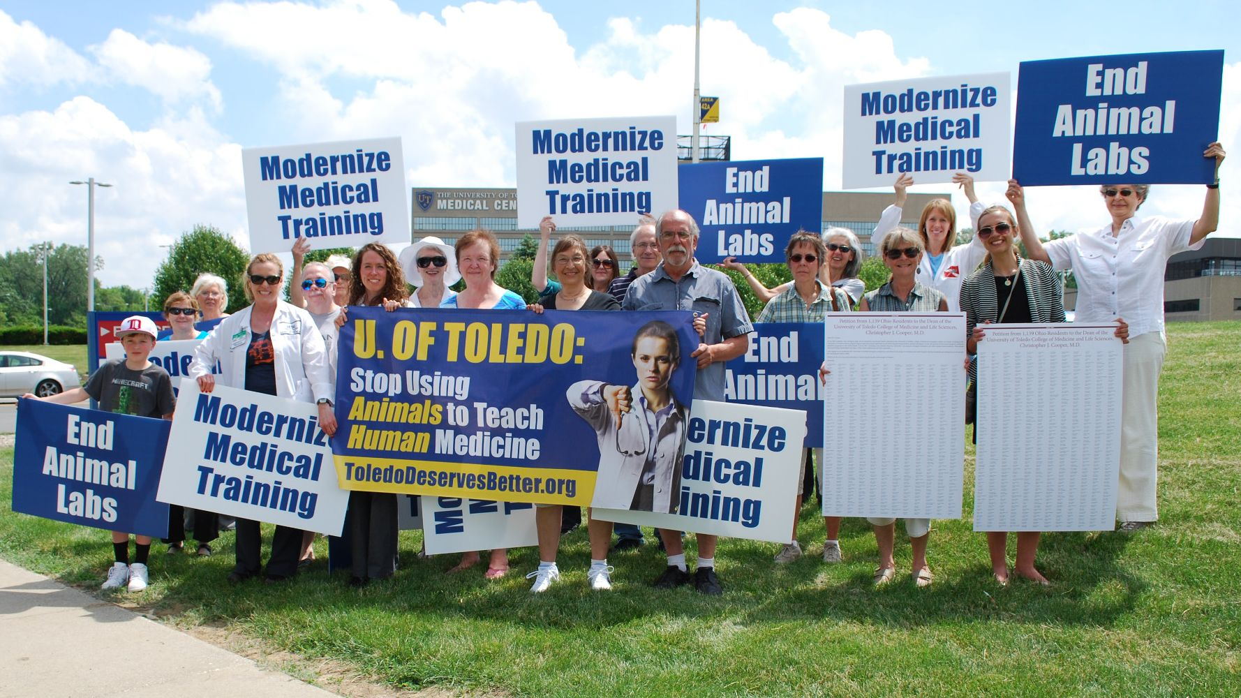 Tell the University of Toledo: Stop Using Animals for Medical Training