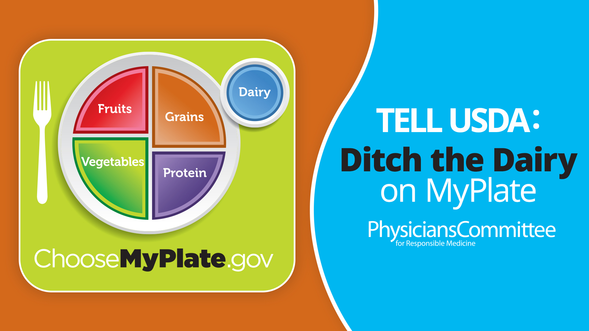 Doctors Group Calls for Dairy-Free MyPlate Ahead of June 2 Anniversary
