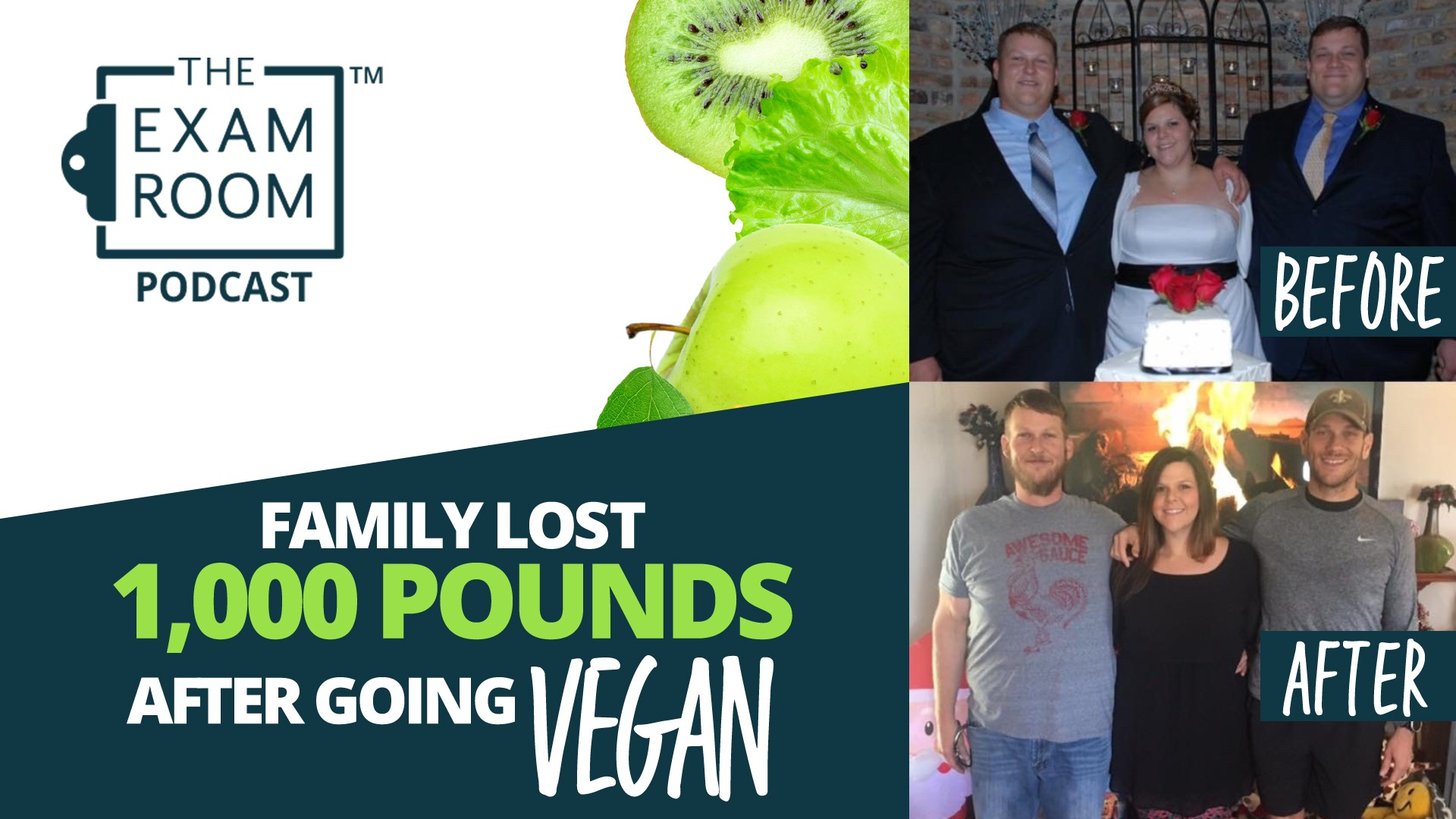 Family Lost 1,000 Pounds By Going Vegan