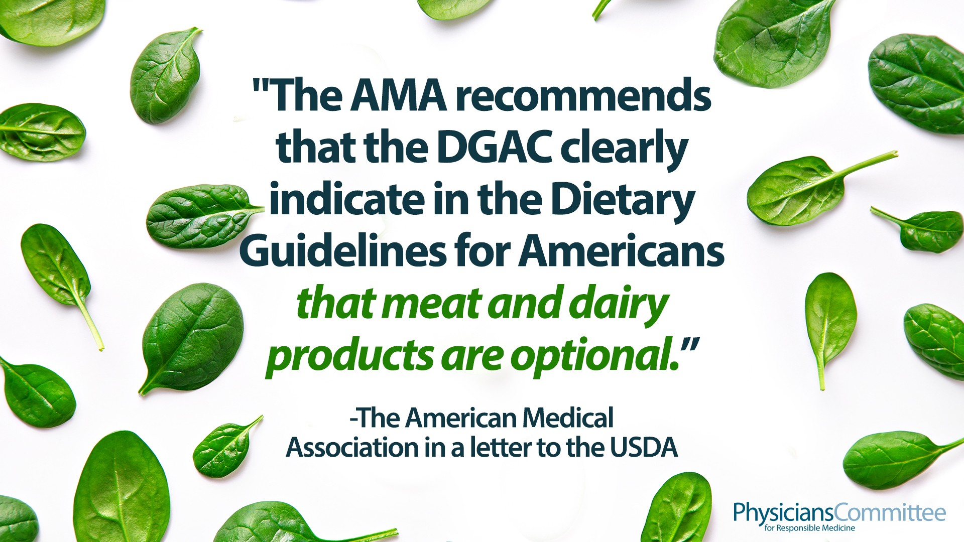 American Medical Association Calls for Dietary Guidelines to Indicate 'Meat and Dairy Products Are Optional' To Fight Health Disparities