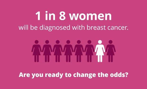 1 in 8 women