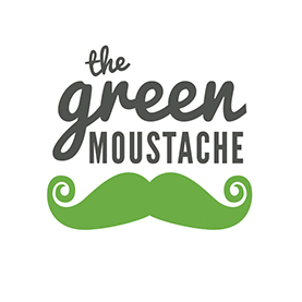 the green Mustache