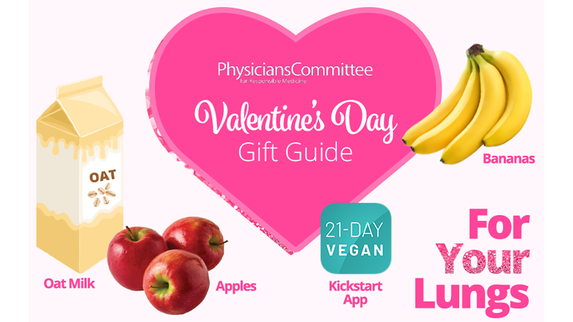 PCRM Valentine's Gift Guide