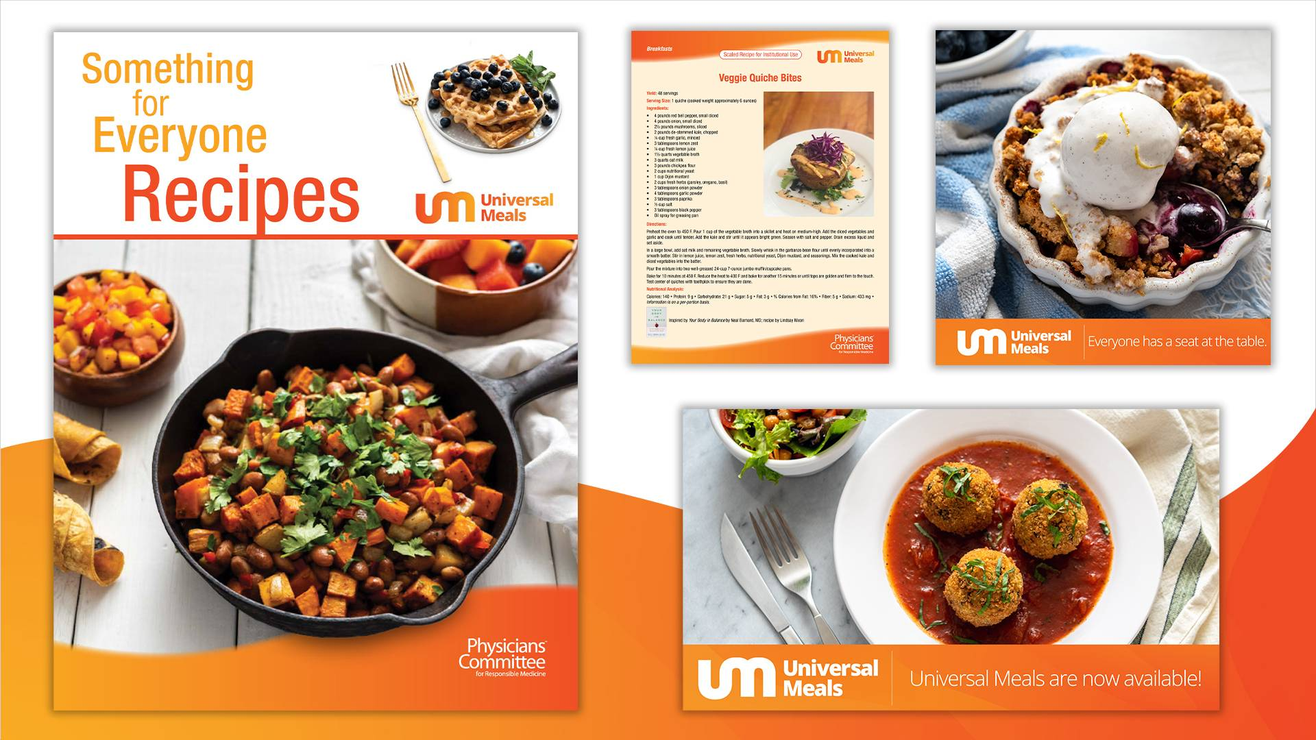 Universal Meals Recipe Library
