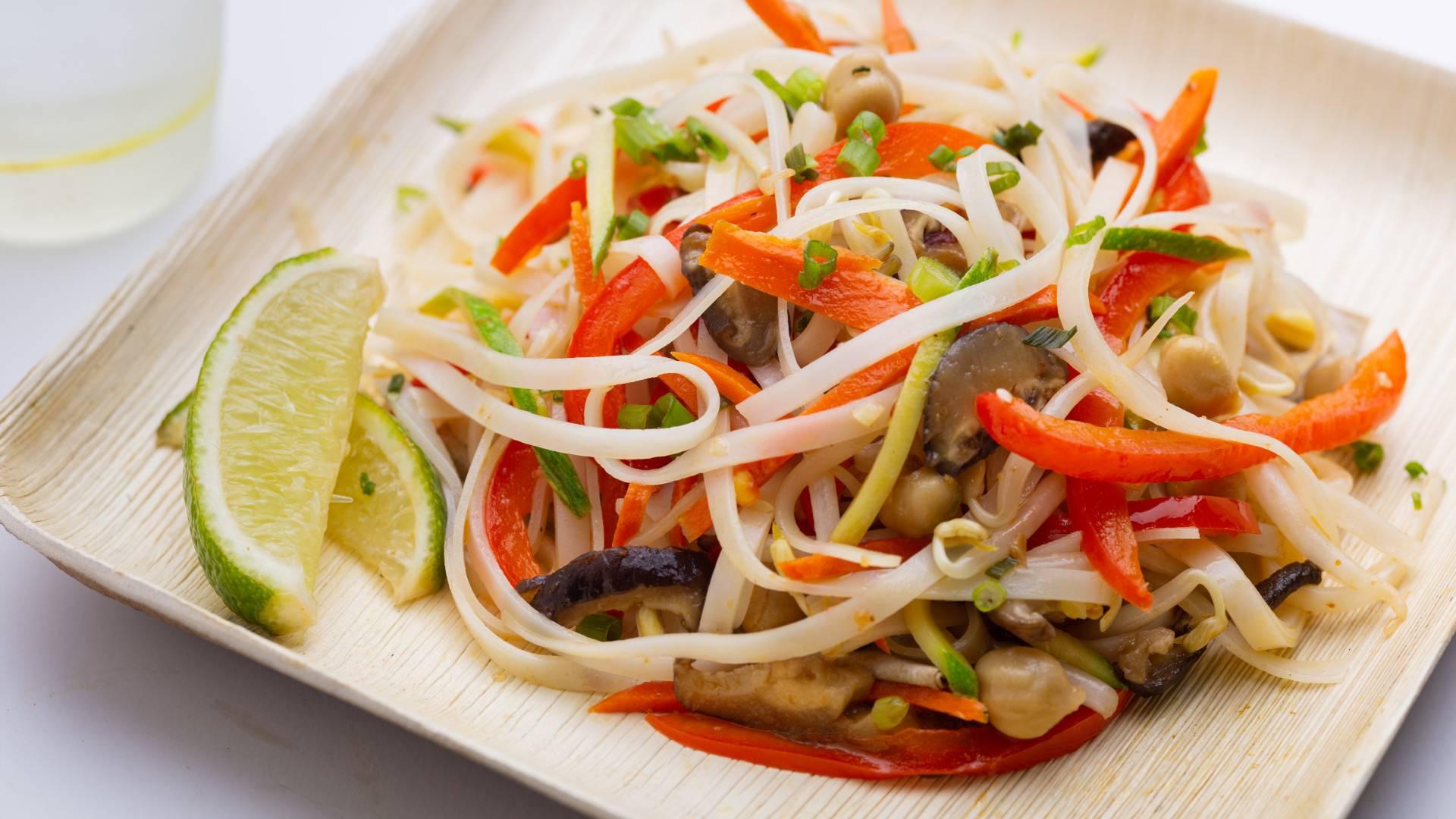 Five-Vegetable Pad Thai