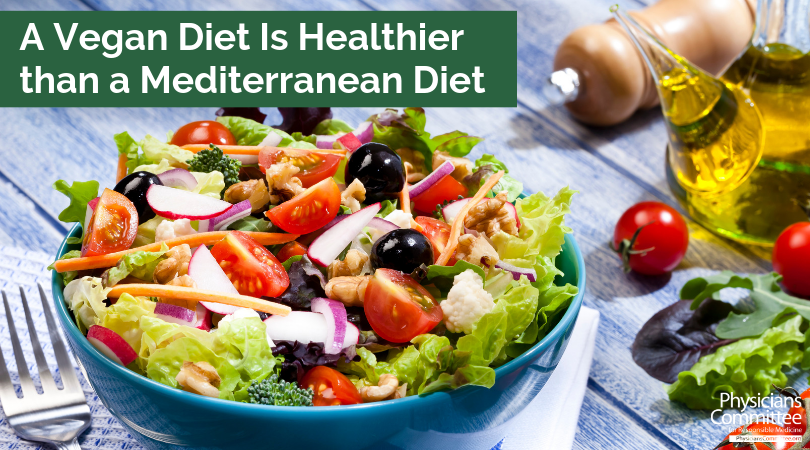 mediterranean diet vs plant based