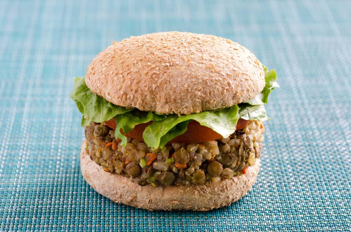 Lentil Vegetable Burgers