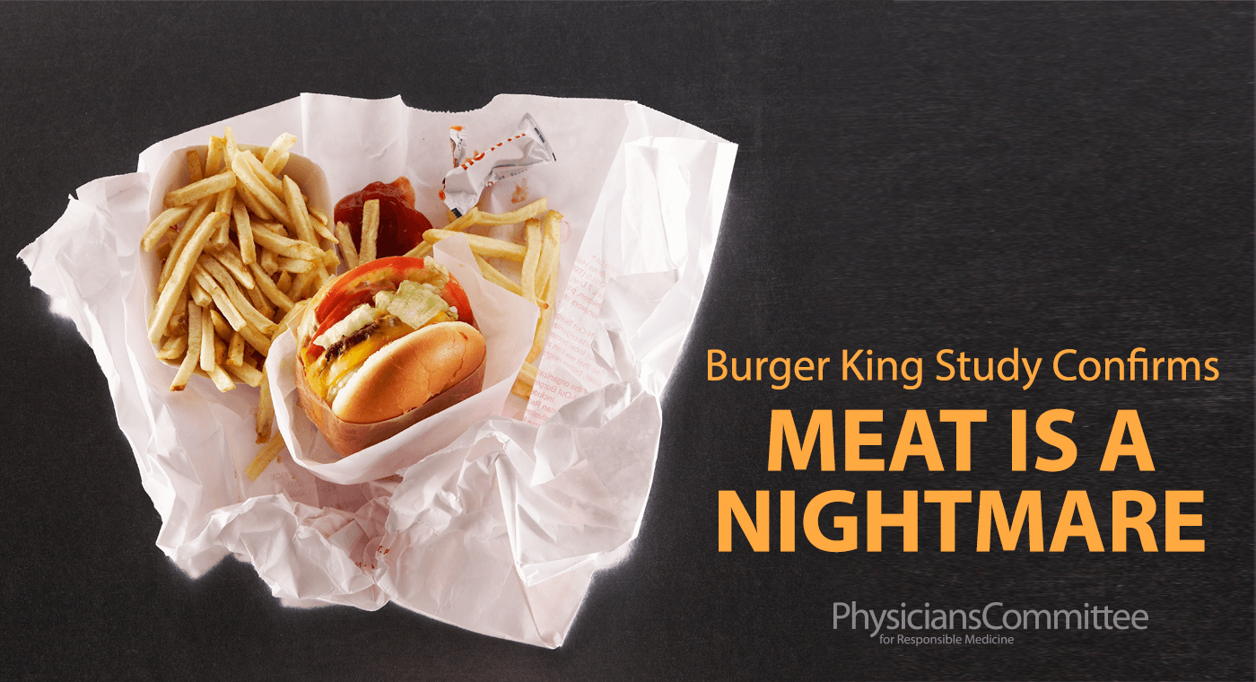 Burger King Study Confirms Meat Is a Nightmare