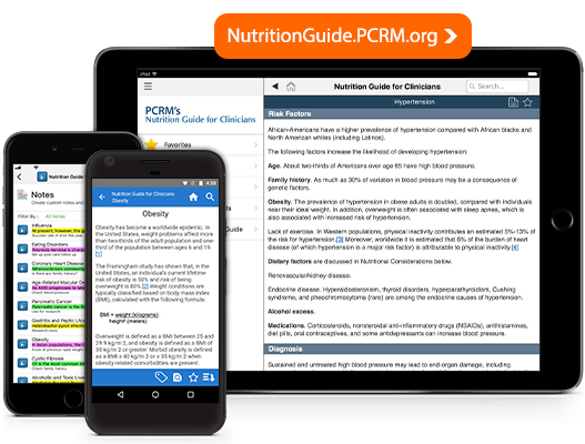 Nutrition Guide for Clinicians