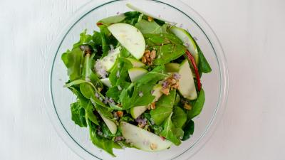 Green Salad - combine ingredients in a large bowl