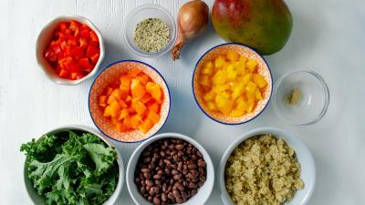 Kickstart Kale Bowl ingredients